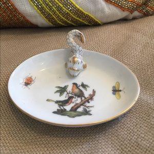 Herend Rothschild Bird Dish